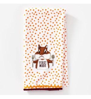 Feast Mode Tea Towel