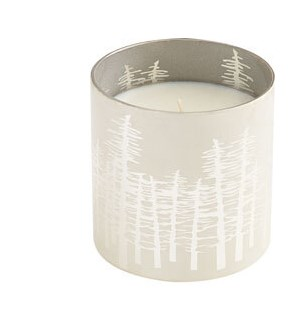 Silver Frasier Candle