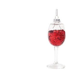 Red Wine Ornament