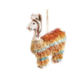 Fringe Llama Ornament