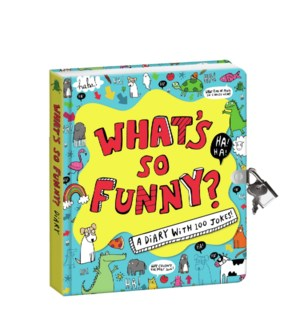 What's So Funny Diary Back in stock Dec 30