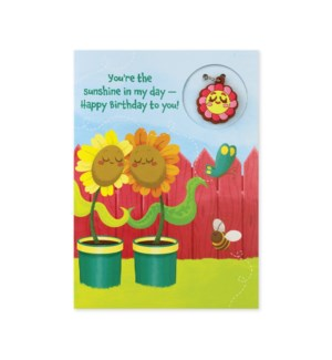 Best Friends Charm Card