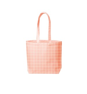 Daily Grind Canvas - Peach - Grid