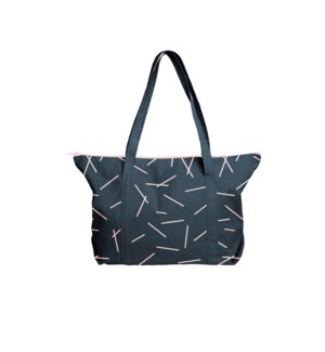 Weekender Tote Canvas - Midnight - Pixie Sticks