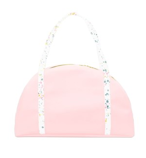 Somewhere Tote - Pink + Splatter Handles