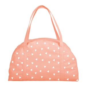 Somewhere Tote Canvas - Peach - Triangle