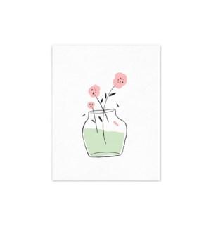 Pink Flower - 8x10