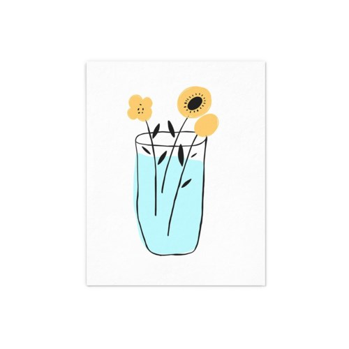 Yellow Flower - 8x10
