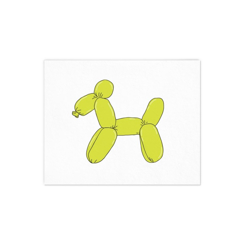 Balloon Dog - 8x10