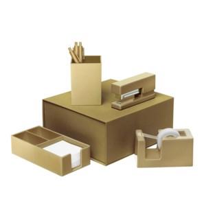 Gold Desk Set