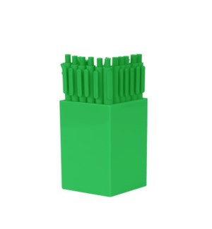 Bulk Jotters - with cup - Grass Green