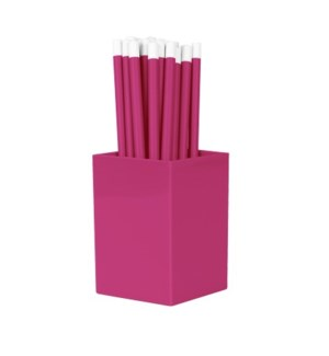 Bulk Pencils - with cup - Pink