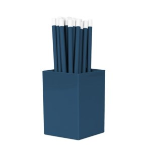 Bulk Pencils - with cup - Royal Blue