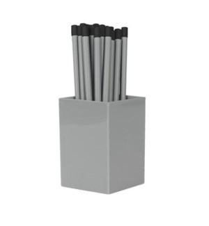 Bulk Pencils - with cup - Gray