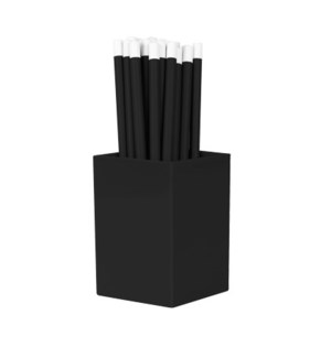 Bulk Pencils - with cup - Black