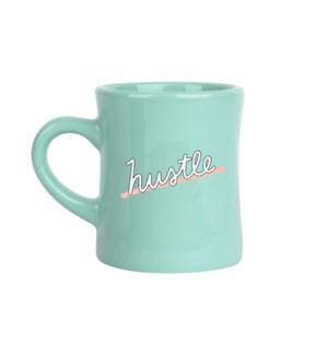 Hustle Mint Diner Mug