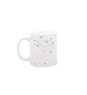 Splatter White Mug
