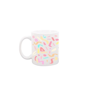 Party Animal White Mug