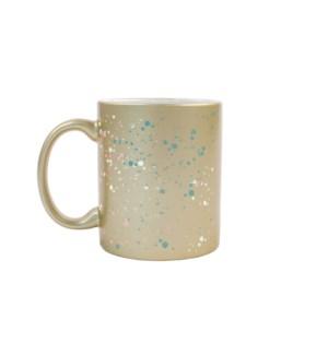 Splatter Gold Mug