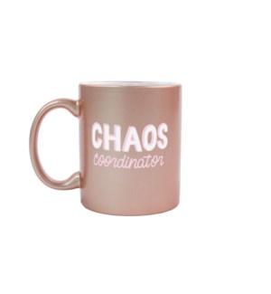 Chaos Manager Rose Gold Mug