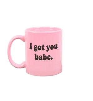 I Got You Babe Blush Pink Mug