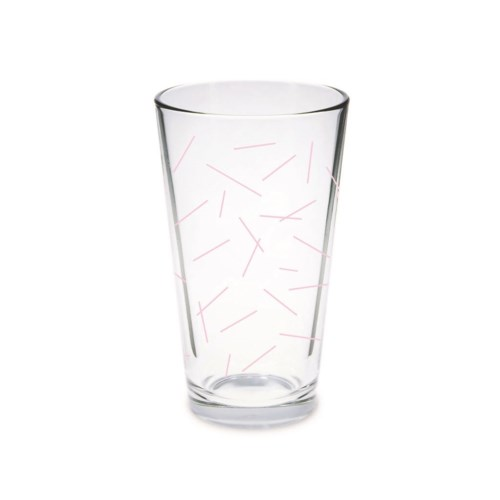 Pint Glass - Pixie Sticks Light Pink