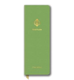 Leatheresque Jotter Journals Gratitude Green
