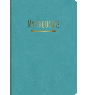 Leatheresque Journals Nearly Teal