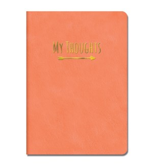 Leatheresque Journals Crazy for Coral