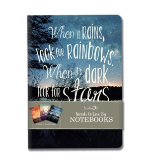 Notebook Trios Words to Live By