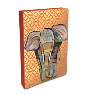 Coptic-Bound Journal Compact Majestic Elephant