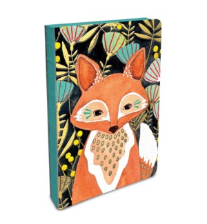 Coptic-Bound Journal Woodland Fox