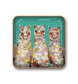 Small Metal Catchalls Alpaca