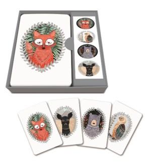 Notecard Set Woodland Creatures