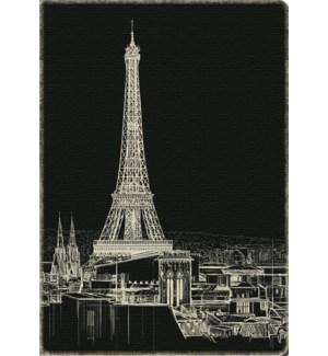 Deconstructed Sketchbook Eiffel Tower