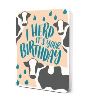 I Herd It's Your Birthday
