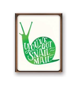 Artisan Notecards Snail Mail