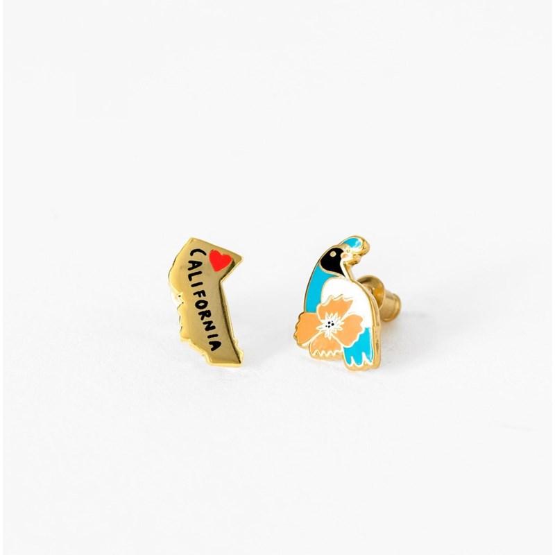 CA State Earrings