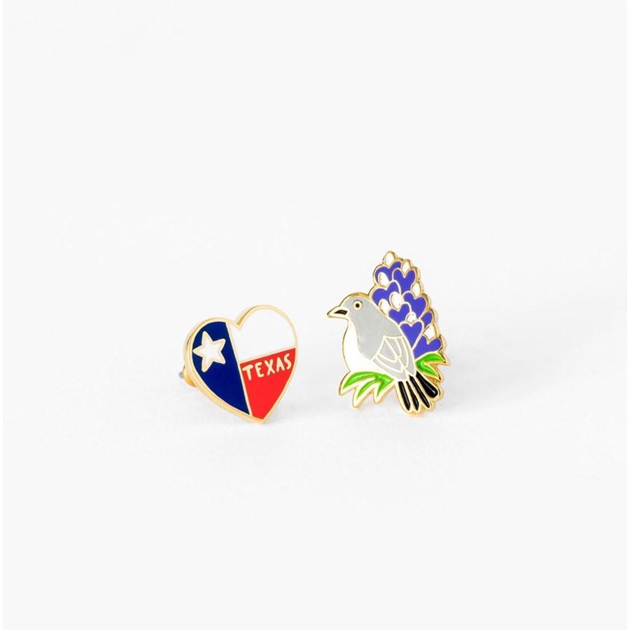 TX State Earrings