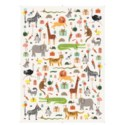 Roll of 3 Party Animals Wrapping Sheets