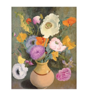 Poppies and Sweetpeas|Art Angels