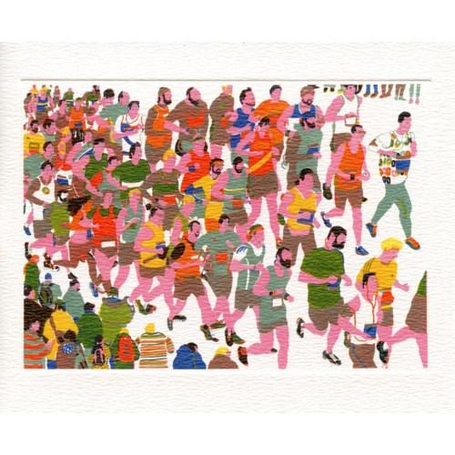 Marathon 5.5x6.75|Art Angels