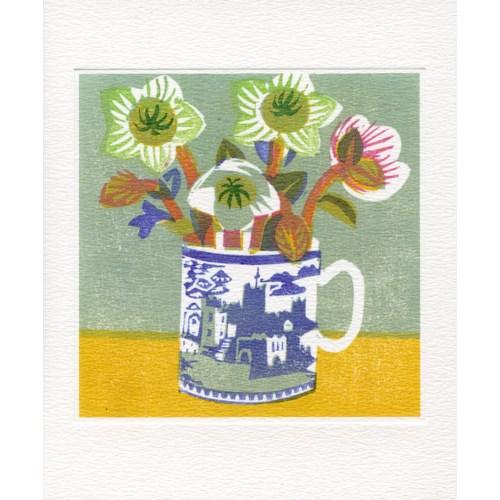 Lenten Roses 5.5 x 6.5 Art Angels