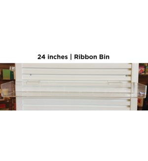 "24"" ribbon bin, holds 4 units of ribbon
