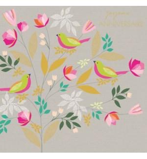 Joyeux Anniversaire Birds|Z