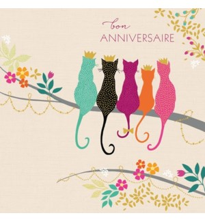 Bon Anniversaire Cats|Z