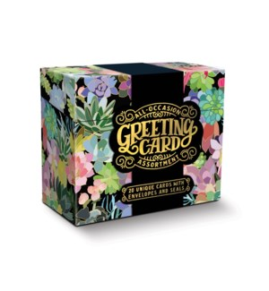 All-Occasion Greeting Card Assortment Succulent Paradise