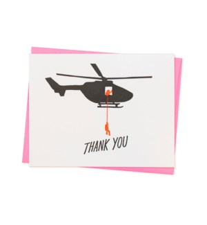 Thank You Helicopter