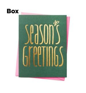 Sprig Season'S Greetings - Boxed set of 6