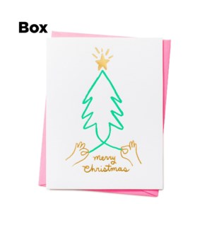 Merry Tree-Boxed set of 6